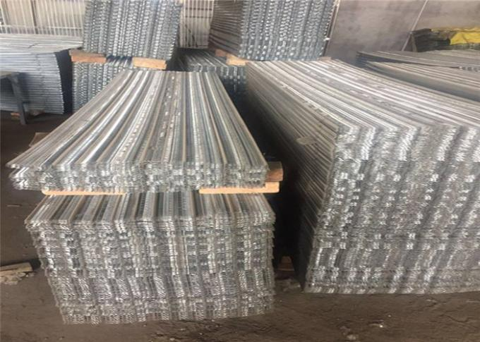 Interior Wall  Fine Stainless Steel Expanded Metal Mesh  For High Rib 610 X 2440 Mm