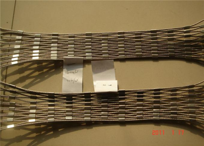 zoo mesh fence X-TEND wire rope mesh stainless steel 316 wire rope mesh/stainless steel wire mesh rope fence