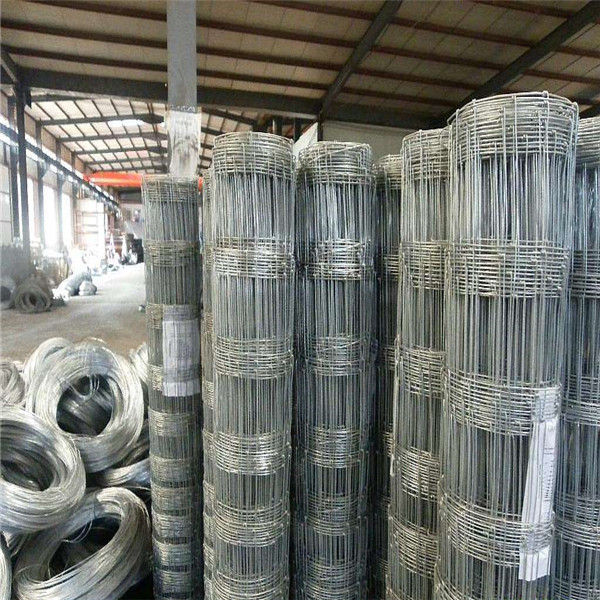 High Strength Carbon Steel Wire Mesh Fence ,  Cow Sheep Dog Hog Wire Fence Roll