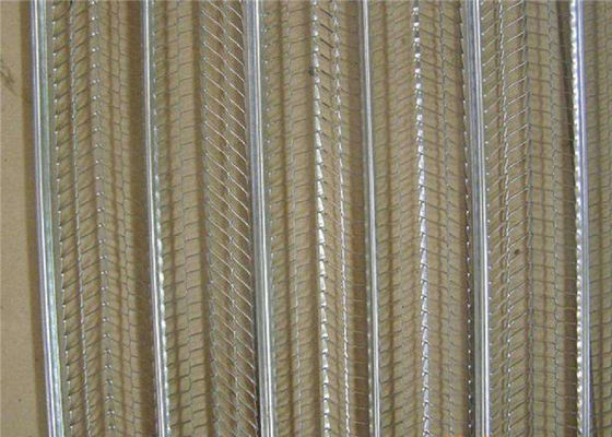 China High Rib  Heavy Duty  Galvanized Expanded Metal Aluminium Mesh  For Building Materials 0.45mm  2500m supplier