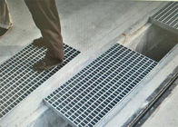 China Black Powder Coated Walkway Steel Grate Mesh For  Driveway  Hot Dip Galvanised factory