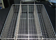 China Corrosion Resistance Hardware Wire Mesh Filter , Extra Large Wire Storage Baskets For Disinfecting company