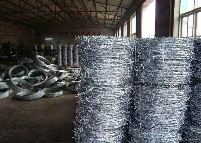 High Security Razor Spiral Barbed Wire Fence Hot Dipped Galvanized ...