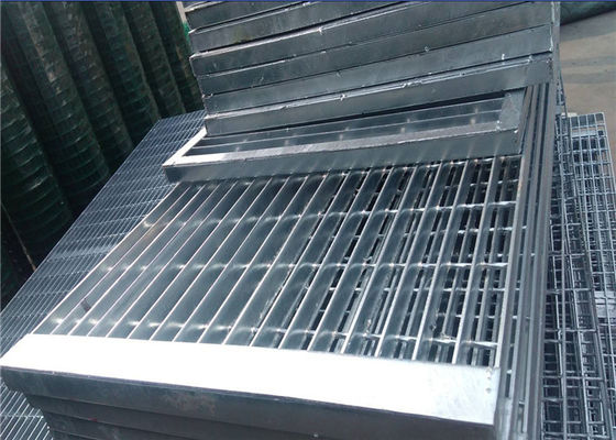 steel grid mesh flooring/galvanized steel grid/small metal grate/steel grating platform/used steel grating