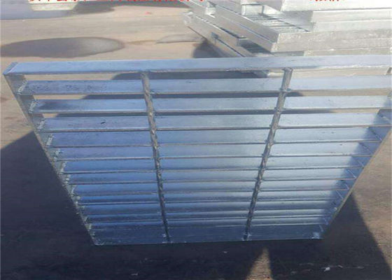 Custom Steel Grate Mesh ,  Hot Galvanized Industrial Catwalk Steel Grating  For Car Washing